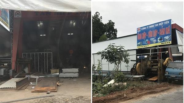 Bình Giang (Hải Dương): Ngang nhiên xây dựng nhà xưởng trái phép