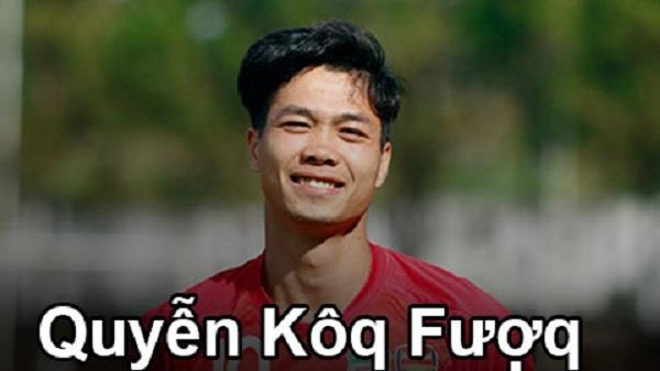 Tên cầu thủ Việt Nam sẽ thế nào theo bảng tiếng Việt mới?