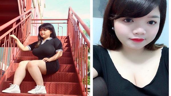 Chị của nữ sinh Hải Dương ngực 110cm không thua kém em gái