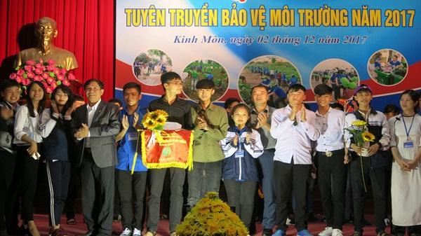 Hội thi Tuyên truyền bảo vệ môi trường: Trường THPT Kinh Môn giành giải nhất