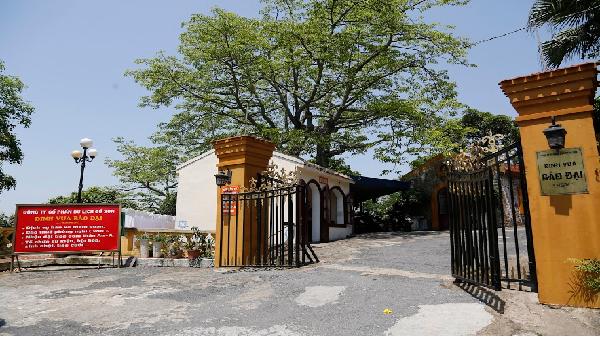 Khám phá kiến trúc Dinh vua Bảo Đại ở miền Bắc