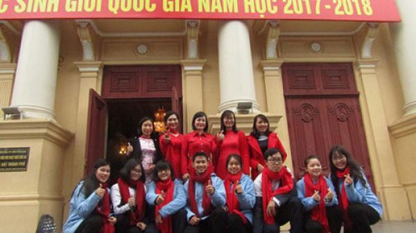Hải Phòng đạt kỷ lục tại kì thi học sinh giỏi quốc gia 2018