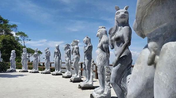 Hải Phòng: Bị 'chê' hình ảnh kỳ dị của 12 con giáp bằng đá phản cảm, chủ khu du lịch nói gì?