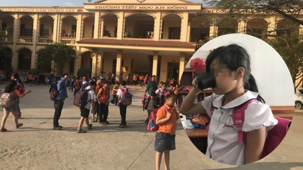 """Hải Phòng: Học sinh bị ép uống nước giẻ lau bảng, trưởng phòng giáo dục """"mong dư luận cảm thông"""""""