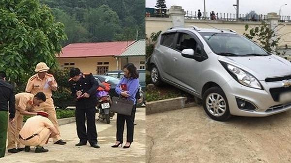 Vụ lùi ô tô cán chết HS lớp 1: Cô giáo cầm lái, thầy giáo nhận thay