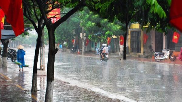Thời tiết ngày Giỗ Tổ, nghỉ lễ 30/4: Cả nước mưa dông?