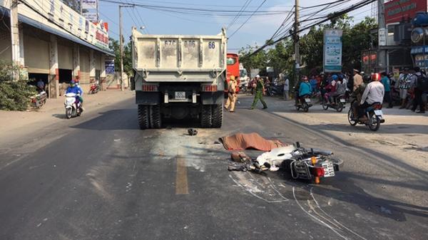 Miền Tây: Nữ sinh lớp 12 trường chuyên tử vong thương tâm dưới bánh xe tải
