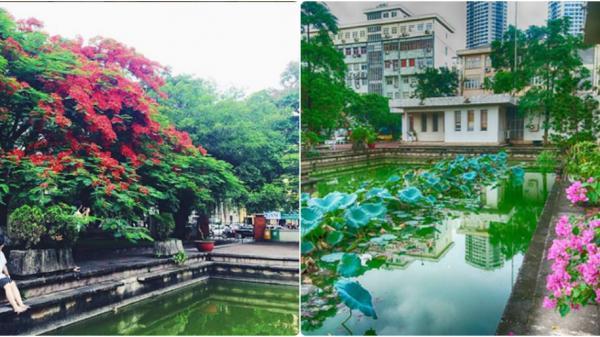 Những ngóc ngách đẹp khó tin tại ĐH Quốc gia Hà Nội