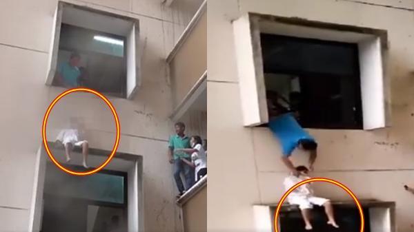 Thiếu nữ trẻ nhảy lầu tự tử đúng ngày mưa tầm tã, bác sĩ ra cứu nhưng không may tuột tay, 2 giây sau…