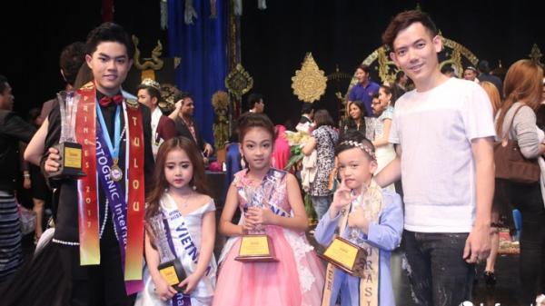 Đoàn Việt Nam đại thắng tại đấu trường tài sắc thiếu nhi quốc tế