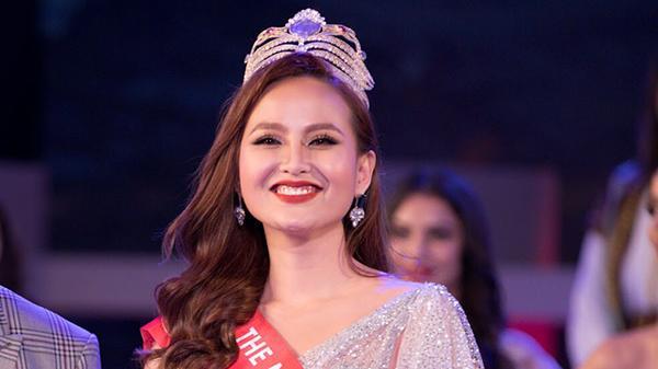 Không được trao vương miện cho tân Miss Globe, Hoa hậu Khánh Ngân nói gì?
