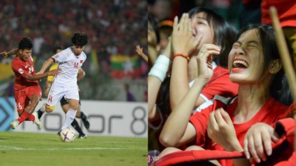 Trọng tài cướp trắng bàn thắng, ĐT Việt Nam mất oan 3 điểm đầy đáng tiếc trên đất Myanmar
