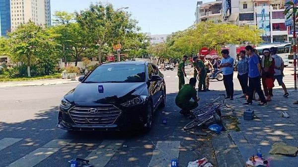 Đà Nẵng: Đi xe đạp ngã xuống đường rồi t.ử v.ong sau va chạm với ô tô