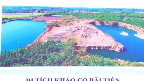 Bình Phước: Di tích Thành đất hình tròn Lộc Tấn 2 là di tích khảo cổ quốc gia