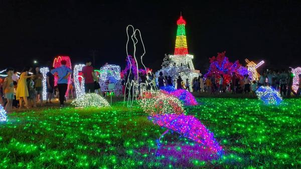 Hải Phòng ơi, tưng bừng chờ đón lễ hội ánh sáng siêu hoành tráng với hàng triệu bóng đèn Led