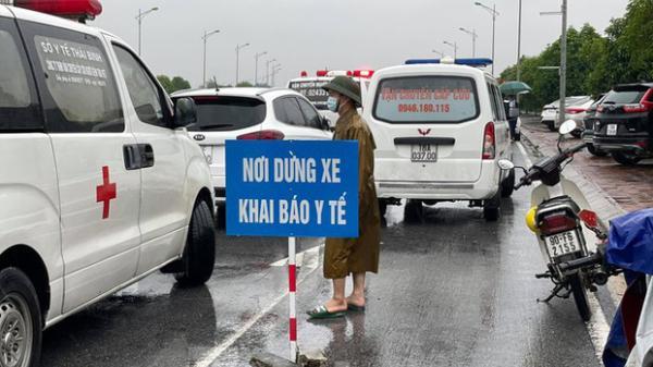 Từ 16/10, người vào Nam Định, Thái Bình không phải trình kết quả xét nghiệm
