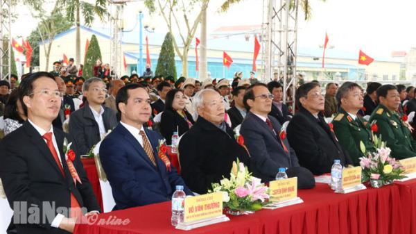Long trọng Lễ kỷ niệm 60 năm Ngày Bác Hồ về thăm Hà Nam