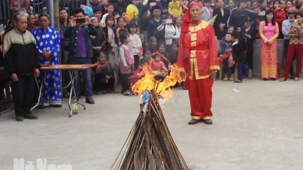 Hội vật Liễu Đôi ( Thanh Liêm) được công nhận di sản văn hóa phi vật thể quốc gia