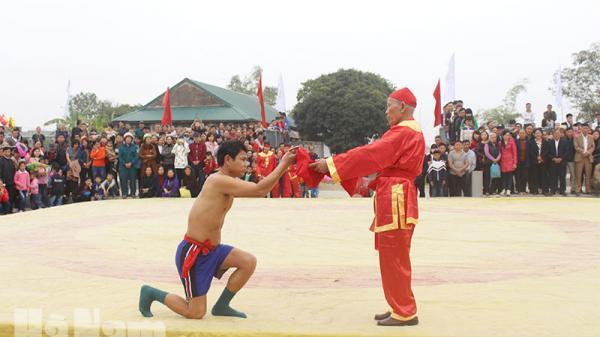 Nét độc đáo của hội vật Liễu Đôi, Thanh Liêm