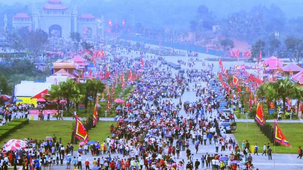 Chương trình tổng thể hoạt động Giỗ Tổ Hùng Vương - Lễ hội Đền Hùng năm Mậu Tuất 2018
