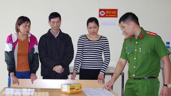 Bắt nhóm tội phạm đánh bạc dưới hình thức ghi lô, đề ở Thanh Liêm