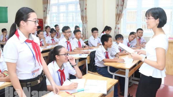Hà Nam: Năm học 2018-2019 sẽ tuyển 9.236 học sinh lớp 10 các hệ chuyên và không chuyên