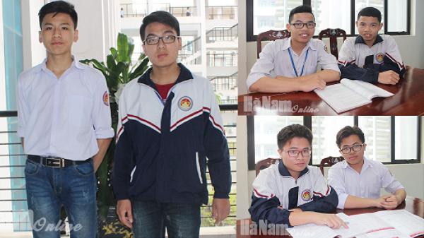 Những cặp song sinh nổi tiếng ở Trường THPT chuyên Biên Hòa