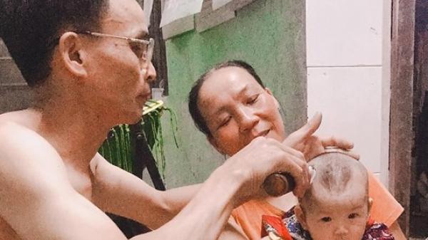 """Tâm sự của 1 mẹ trẻ quê Hà Nam: Có một niềm hạnh phúc mang tên """"ông ngoại"""""""