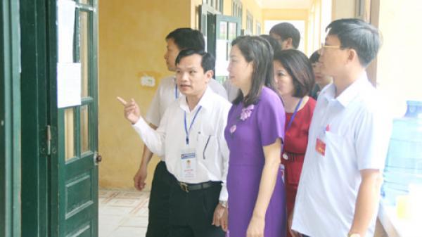 Công tác tổ chức thi tại Hà Nam diễn ra bài bản, đúng quy chế