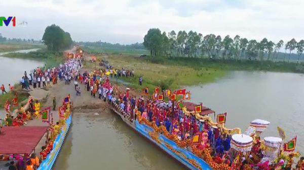 Từng bừng khai mạc Lễ hội Đền Lảnh Giang, Hà Nam