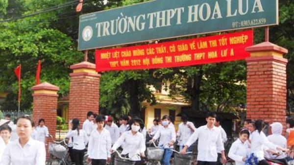 Trường THPT Hoa Lư A: Đơn vị điển hình tiên tiến khối THPT
