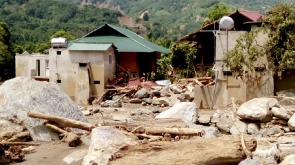 Yên Bái: 1.416 hộ bị thiệt hại và ảnh hưởng về chỗ ở