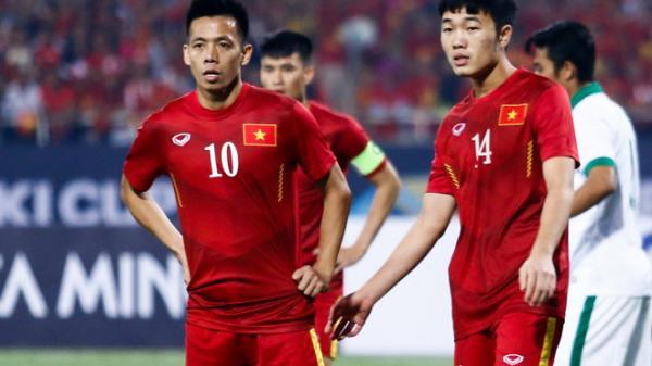 """Văn Quyết """"soán ngôi"""" thủ quân của Lương Xuân Trường, chính thức cầm băng đội trưởng U23 Việt Nam"""