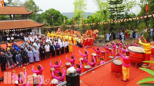 Khai mạc lễ hội chùa Long Đọi Sơn 2017