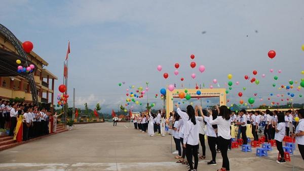 Điện Biên gần 189 nghìn học sinh bước vào năm học mới