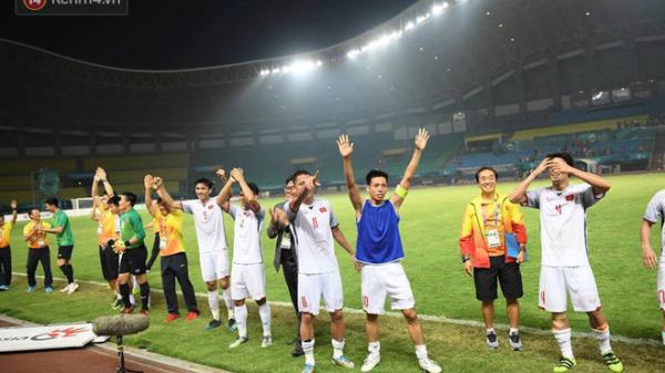 CHOÁNG với số tiền Olympic Việt Nam được thưởng sau khi giành tấm vé vào bán kết ASIAD 2018