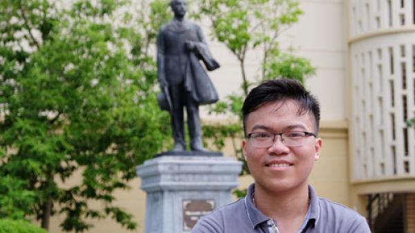 Chàng trai quê Hà Nam - Thí sinh miền Bắc duy nhất được điểm 10 Sinh học là Á khoa ĐH Y Hà Nội