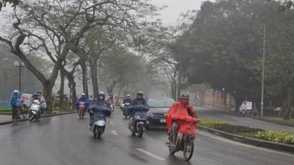 NÓNG: Sắp đón không khí lạnh, các tỉnh Bắc bộ đón hứng chịu trận mưa lớn