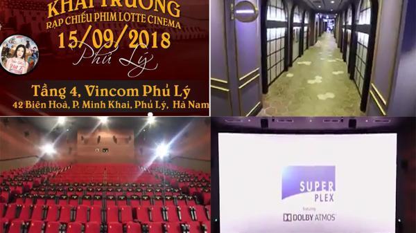 Hot: Sắp có rạp chiếu phim ở Vincom Phủ Lý, giới trẻ Hà Nam háo hức
