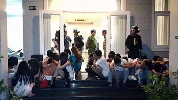 Bắt quả tang 29 nam nữ tổ chức sinh nhật bằng đại tiệc… m.a t.úy