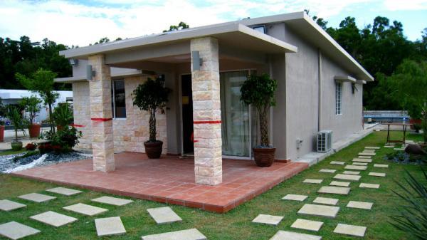 10 mẫu nhà mái bằng 1 tầng ở nông thôn giá rẻ, đẹp hiện đại