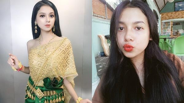 BẤT NGỜ: Nhan sắc em gái Khmer ở miền Tây đẹp như tiên nữ sau khi tẩy trang khiến ai cũng ngã ngửa, 'đúng là cú lừa ngoạn mục'!!!