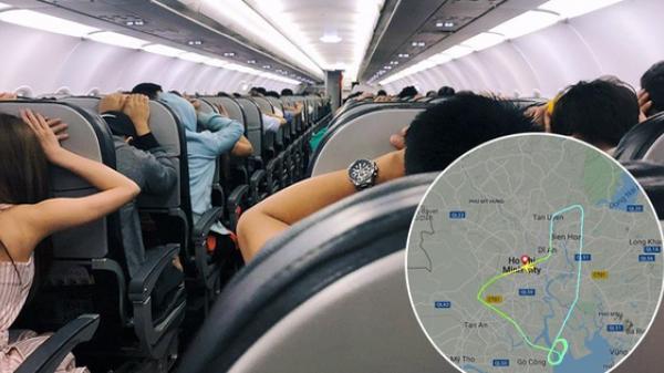 """Máy bay Vietjet nghi gặp sự cố khi mới cất cánh, hành khách đồng loạt vào """"tư thế an toàn"""""""