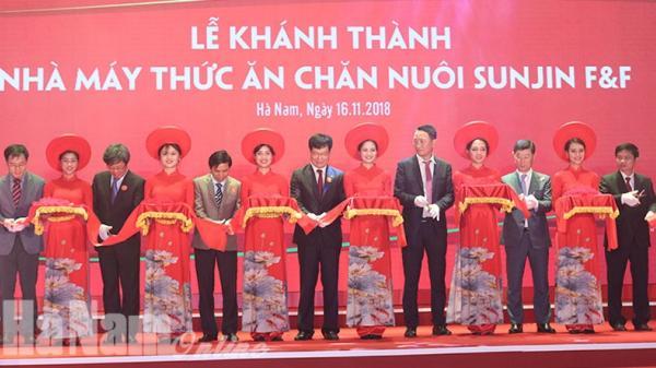 Hà Nam có nhà máy sản xuất thức ăn chăn nuôi 25 triệu USD