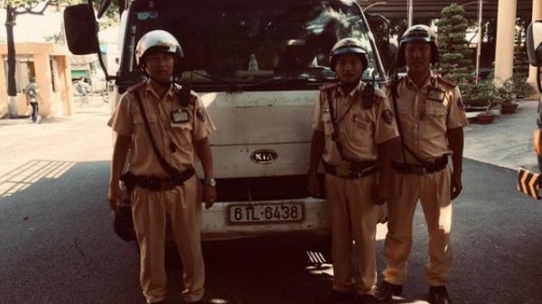 Thanh niên Trà Vinh t.rộm xe tải bị CSGT đón lõng b.ắt ngay tại trận