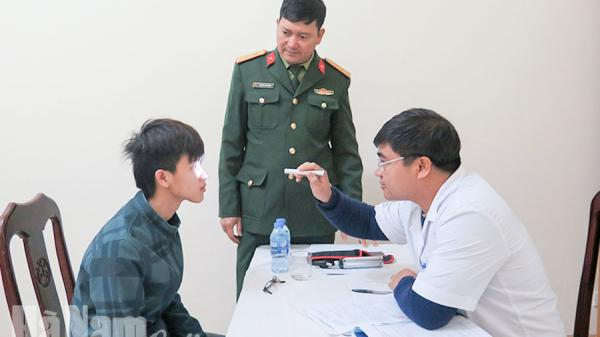 Hà Nam: Thành phố Phủ Lý, huyện Lý Nhân khám tuyển nghĩa vụ quân sự