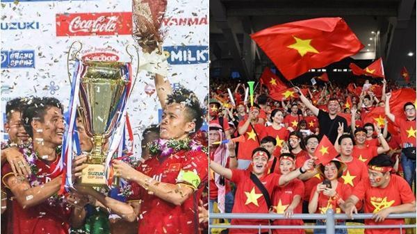 HẾT GIỜ: Chiến thắng chung cuộc 3-2, 10 năm chờ đợi Việt Nam VÔ ĐỊCH rồi