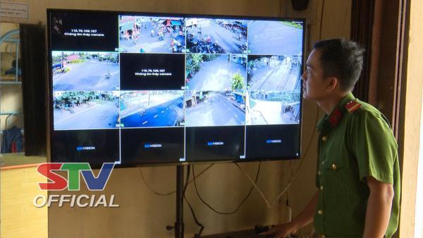 Sóc Trăng: Long Phú lắp 33 camera góp phần đảm bảo an ninh trật tự
