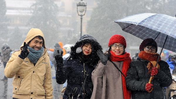 CẢNH BÁO: Bắc bộ sắp lạnh dưới 3 độ C, xuất hiện mưa tuyết băng giá vùng núi cao