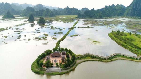 Hà Nam: Ngắm Khu du lịch Tam Chúc sắp hoàn thành, chuẩn bị tổ chức Đại lễ Phật đản Liên Hợp Quốc